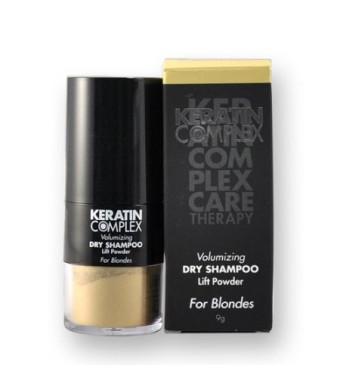 Keratin Complex Volumizing Dry Shampoo Lift Powder Blonde for Unisex, 0.31 Ounce