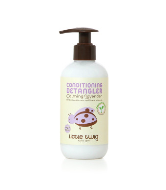 Little Twig Conditioning-Detangler, Calming Lavender, 8.5 Ounce