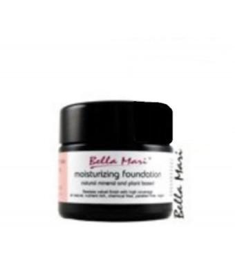 Bella Mari Moisturizing Foundation Light Rose R10 50ml/ 1.7oz Jar