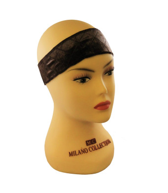 "MILANO COLLECTION ""WIGRIP""  Wig and Scarf Comfort Band Ultimate Alopecia Comfort - Brown"