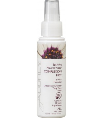 Aubrey Sparkling Mineral Water Balancing and Uplifting Complexion Mist -- 3.4 fl oz