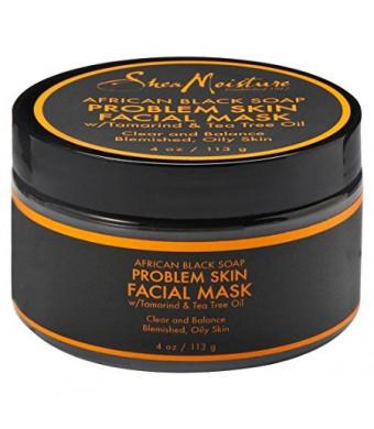 Shea Moisture African Black Soap Problem Skin Facial Mask 4oz
