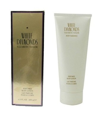 White Diamonds by Elizabeth Taylor for Women 6.8 oz Perfumed Body Lotion