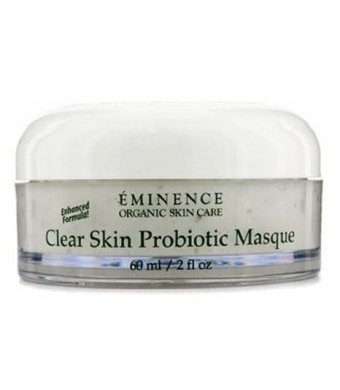 Eminence Organic Skincare Clear Skin Probiotic Masque for Acne Prone Skin, 2 Fluid Ounce