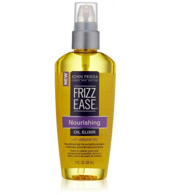 John Frieda Frizz Ease Nourishing Elixir Oil , 3 Fluid Ounce