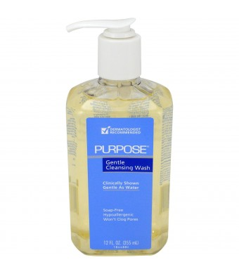 Purpose Gentle Cleansing Wash, 12 Ounce