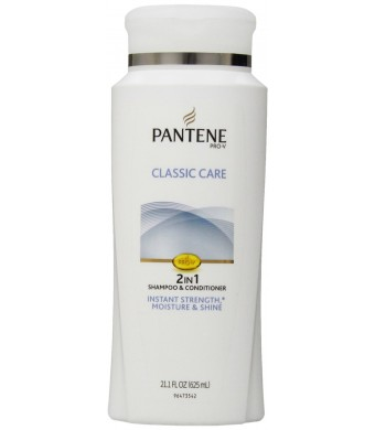 Pantene Pro-V Classic Care 2in1 Shampoo + Conditioner 21.1 Fluid Ounce