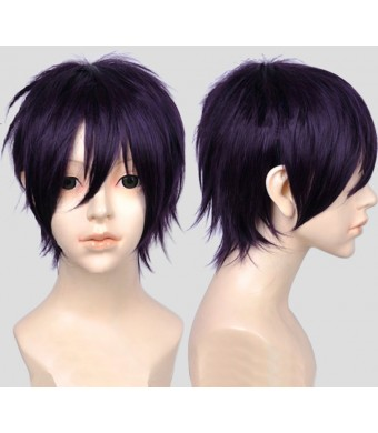 Free Hair Cap + Anime Noragami Yato Yaboku Cosplay Wig Cos Party Hair