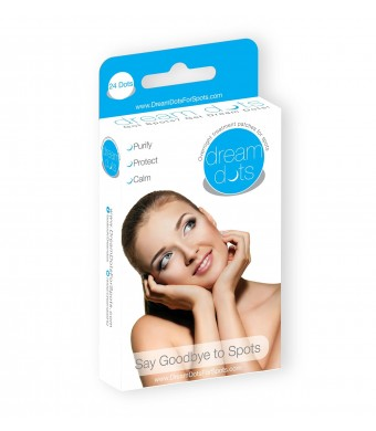 Dream Dots for Spots - Overnight Acne Patch   24 Acne Patches   Clear Acne   Absorbing Cover Gel Patches   Clear Skin Breakouts and Pimples Overnight