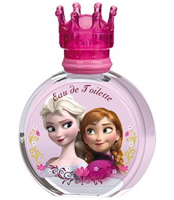 DISNEY Frozen Eau de Toilette Natural Spray for Women, 3.4 Fluid Ounce