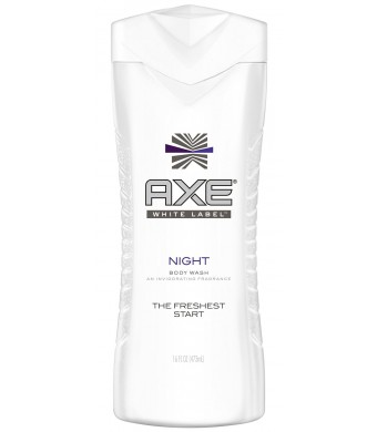 Axe White Label Body Wash, Night 16 ounce
