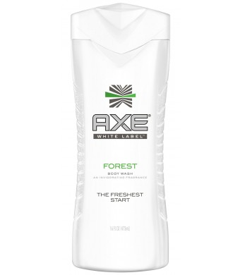 Axe White Label Body Wash, Forest 16 ounce