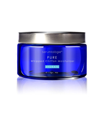serumtologie PURE Whipped Chiffon Moisturizing Skin Care Cream   Anti Aging Facial Moisturizer   Natural and Organic Lotion for Men and Women   Hypoallergenic   Non Greasy, Oil and Fragrance Free   Best for Normal, Oily, Combination and Sensitive Skin   4