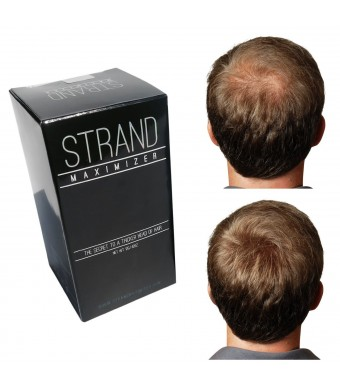 Hair Fibers Conceal Hair Loss with Thinning Hair and Bald Spots on Men and Women with Black Hair