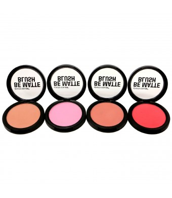 4pc City Color Be Matte Blush set of 4 color #C0003A