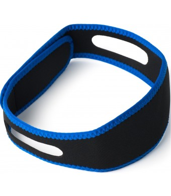 Anti Snoring And Heavy Breathing Chin Strap-Naturally Best Way to Stop Snoring-Perfect Small Stop