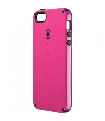 Speck Products SPK-A0776 CandyShell Cover for iPhone 5 and 5s - ATandT Retail Packaging - Raspberry Pink/Black