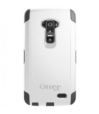 OtterBox Commuter Series Carrying Case for LG G Flex - Retail Packaging - Glacier (White/Gunmetal Grey)