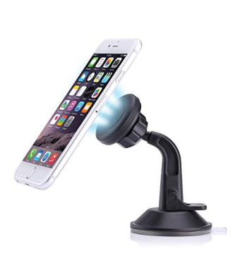 MoKo Universal Windshield and Dashboard Magnetic Car Mount for Apple iPhone 6s Plus / 6 Plus / 6s / 6