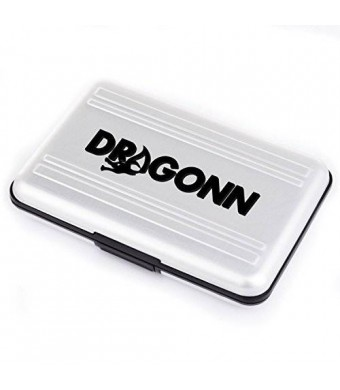 [New Upgraded Model] DRAGONN Memory Card Protector Case - Holds 8 Sd, and 8 Micro Sd Cards