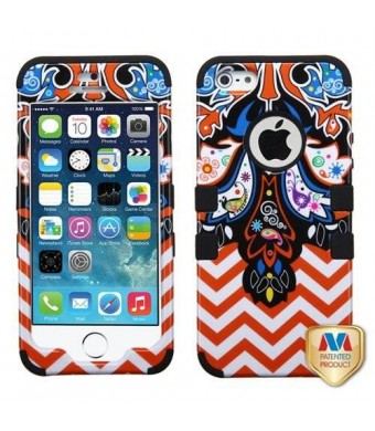 MyBat TUFF Hybrid Phone Protector Cover for iPhone 5s - Retail Packaging - Prayer banner/Black