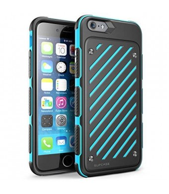 iPhone 6s Case, SUPCASE Also Fit Apple iPhone 6 Case, Dual Layer Hybrid [Unicorn Beetle Sport] Slim Protective Case 4.7 Inch (Blue/Black)