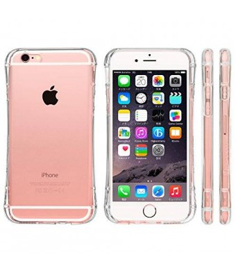 Highendberry Iphone 6/6s Highend Berry Original Soft TPU Clear Case (Arc) with Protective Caps