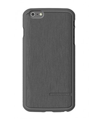Body Glove Satin Phone Case for Apple iPhone 6 Plus/6s Plus, Charcoal