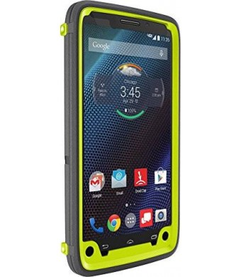 Otterbox 77-50179 Droid Turbo By Motorola Defender Series Case (citron Kick) - Carrying Case - Retail Packaging - Citron Kick