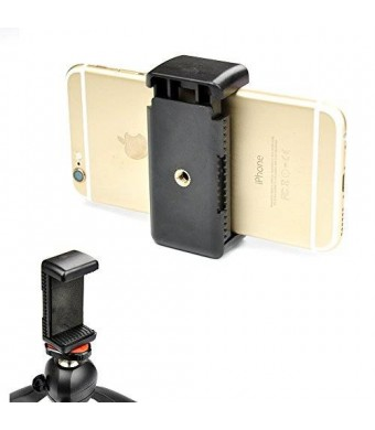 "Accmor Universal Tripod Mount Adapter for Smart Phones 2.3 - 3.3"" Wide"