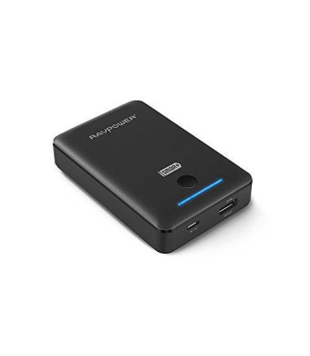 RAVPower 7800mAh Portable Charger Power Bank External Battery Pack(Deluxe Series