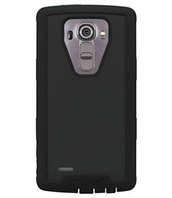 TRIDENT Cyclops Series Cell Phone Case for LG G4 - Retail Packaging - Black