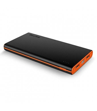 [Upgraded Version] EasyAcc 2nd Gen 10000mAh Power Bank Portable External Battery Pack