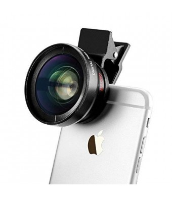 TECHO Universal Professional HD Camera Lens Kit for iPhone 6s / 6s Plus / 6 / 5s