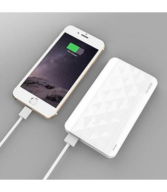 [Slim-Juice] Kans Ultra Compact 4000mAh Portable Charger External Battery Power Bank for iPhone 6 Plus 5S
