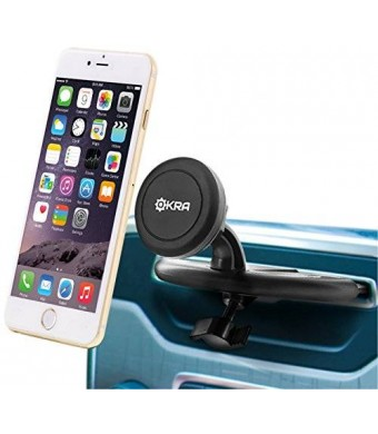 [Lifetime Warranty] Okra Universal Powerful Magnetic CD Slot Car Mount Cradle-less for all Smartphones and GPS