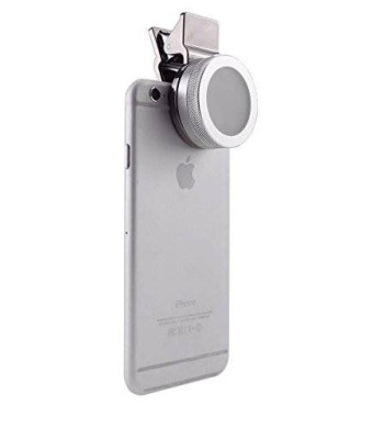 D & K Exclusives Universal Clip-On Mini LED Light Portable Pocket Spotlight for iPhone