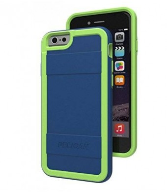"Pelican ProGear Protector Series for iPhone 6 (4.7"") - Retail Packaging - Navy Blue / Lime"