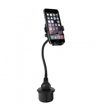 G-Cord Flexible Extra Long Arm Cup Holder Mount for iPhone and other Smartphones