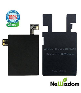 NeWisdom ultra slim ultra-thin IC CHIP RECEIVER SUPPORT NFC and QI WIRELESS CHARGING FOR LG G4 VS986 H811 H815 LS991 F500(G4 chip-ultra slim)