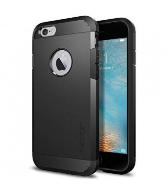 Spigen Tough Armor iPhone 6S Case with Extreme Heavy Duty Protection and Air Cushion Techonology for iPhone 6S 2015 - Black