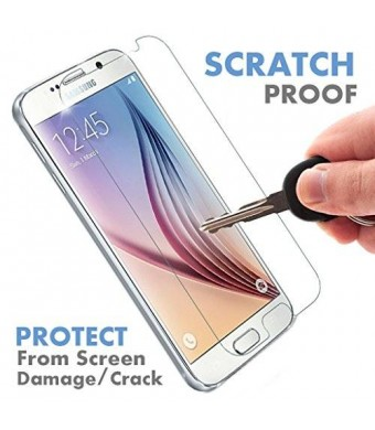 Samsung Galaxy S6 Glass Screen Protector by Voxkin - Protect