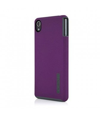Incipio Carrying Case for Sony Xperia Z3v - Retail Packaging - Iridiscent Purple/Gray