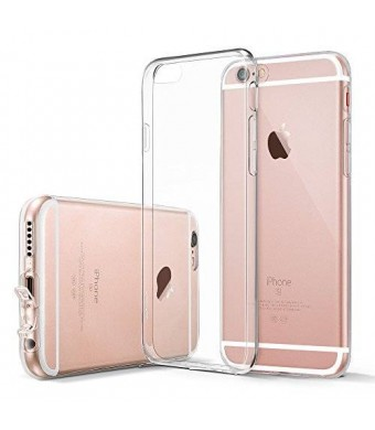 iPhone 6s Case, ESR iPhone 6s Case Clear Soft TPU Gel Skin [0.8mm Ultra Thin] Protective Cover for iPhone 6s (2015) / iPhone 6 (2014)(Clear)