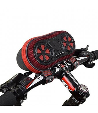 ECEEN Wireless Bluetooth Speaker - Bicycle Speaker Case with Hands-Free Speakerphone Calls and Rechargeable 4