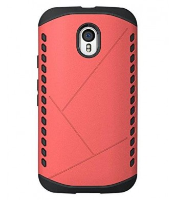 Cruzerlite Cell Phone Case for Moto G 2015 3rd Generation - Retail Packaging - Pink