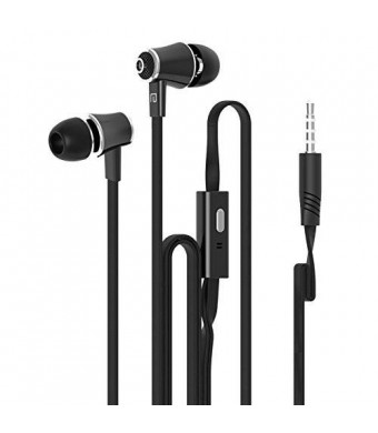 Dastone 3.5mm Noise Isolating Bass In-ear Stereo Earphones Earbuds Headset
