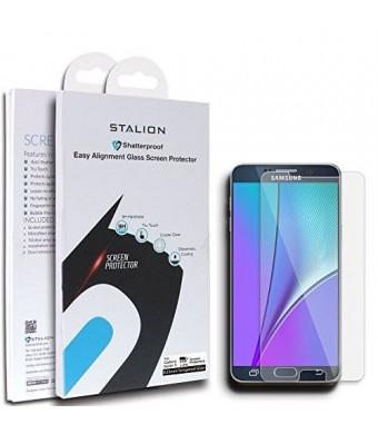 Galaxy Note 5 Screen Protector: Stalion Shield TEMPERED LIQUID GLASS Armor Guard for Samsung Galaxy Note 5
