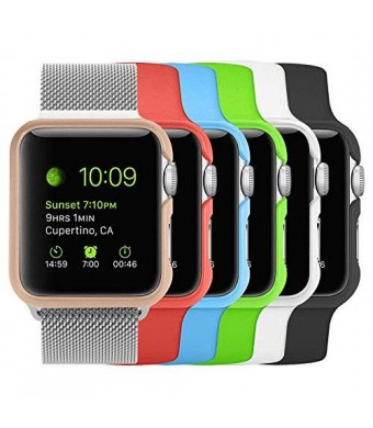 Fintie [6 Color Pack] Apple Watch Case