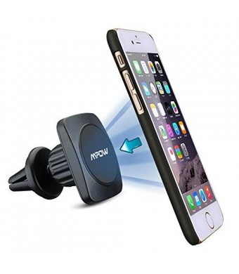 [New Generation] Mpow Grip Magic 360 Degree Universal Air Vent Car Mount Holder for iPhone 6S/6 Plus/5S/5C, Galaxy Note 4/3, Galaxy S6/ S6 Edge/5/4